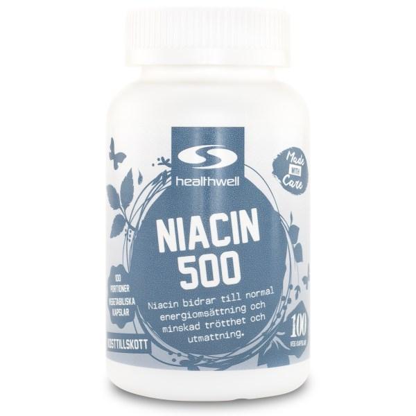 Niacin 500 100 kaps