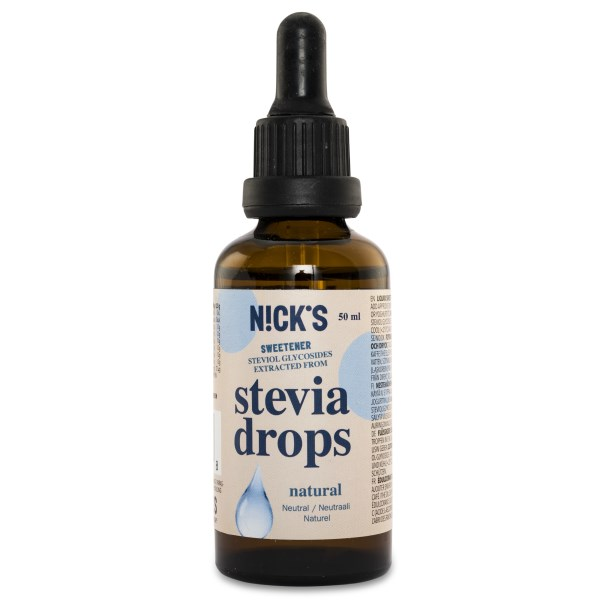 Nicks Stevia Drops Natural 50 ml