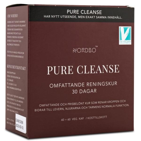 Nordbo Pure Cleanse 120 kaps