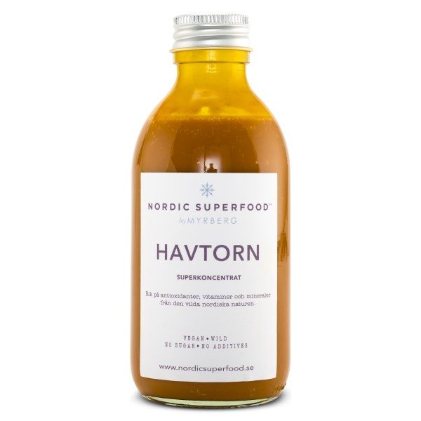 Nordic Superfood Råsaft koncentrat 198 ml Havtorn
