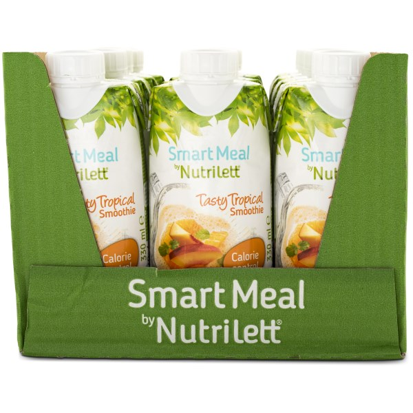 Nutrilett Less Sugar Smoothie Tasty Tropical 12-pack