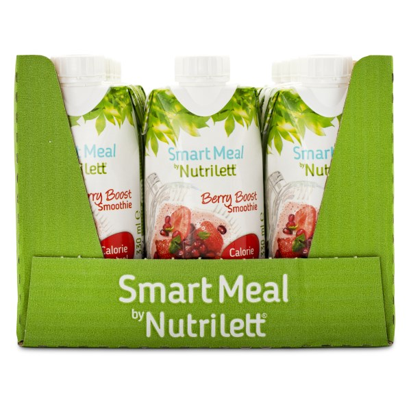 Nutrilett Less Sugar Smoothie Berry Boost 12-pack