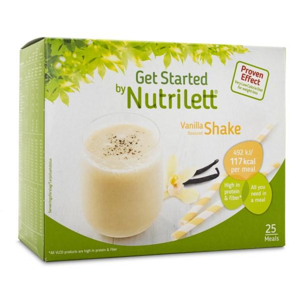Nutrilett Quick Weightloss Shake Vanilla 25-pack