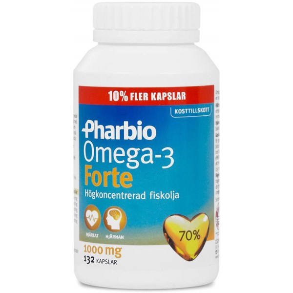 Pharbio Omega-3 Forte 132 kaps