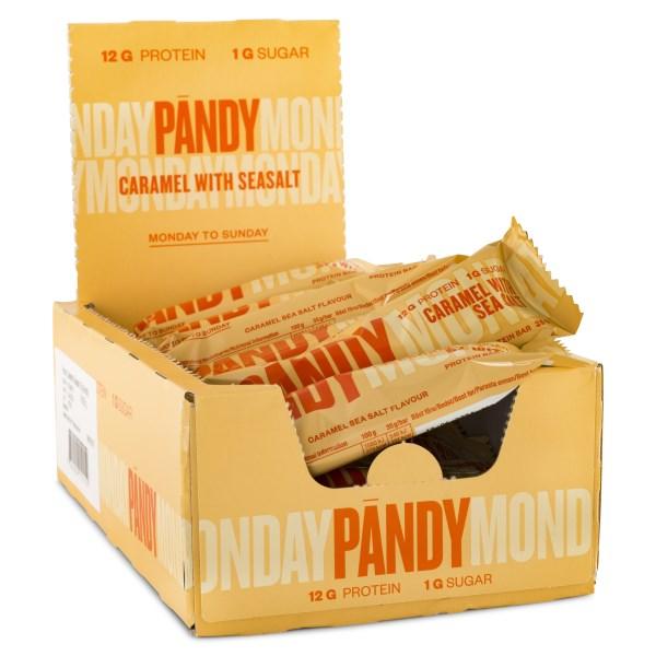 Pändy Candy Bar Caramel & Sea Salt 18-pack
