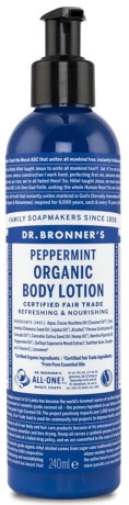Dr Bronner Organic Body Lotion Peppermint