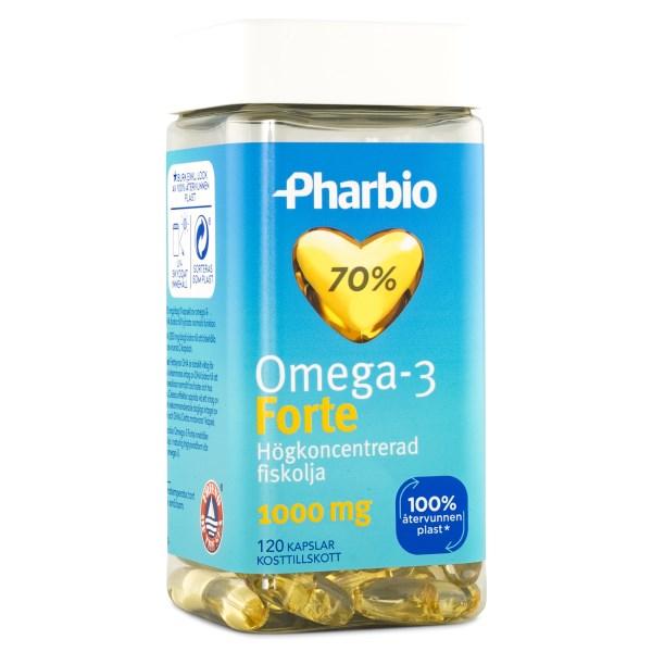 Pharbio Omega-3 Forte 120 kaps