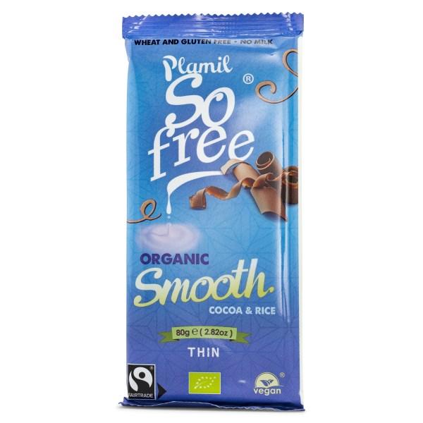 Plamil So Free Vegansk Choklad Milk Chocolate 80 g