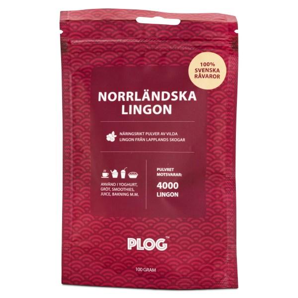 PLOG Norrländska Lingon 100 g