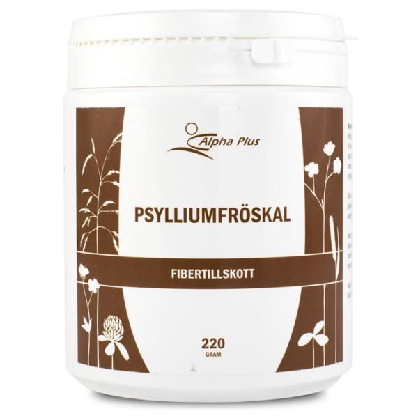 Alpha Plus Psylliumfröskal 220 g