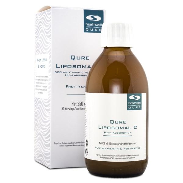 QURE Liposomal C Fruktsmak 250 ml