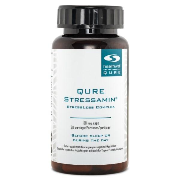 QURE Stressamin 120 kaps