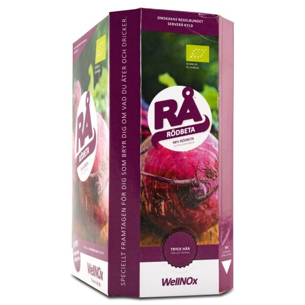 RÅ Rödbetsjuice Bag in Box 3000 ml