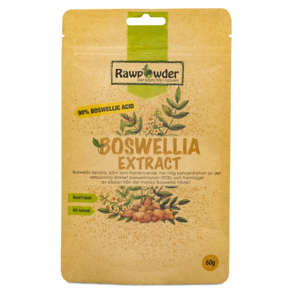 Rawpowder Boswellia extrakt 60 g