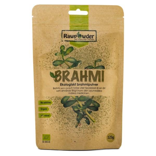 RawPowder Brahmi Pulver EKO 125 g