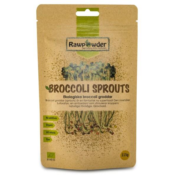 RawPowder Broccoligroddar 115 g