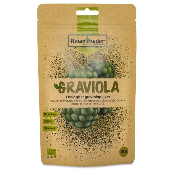 RawPowder Graviola Pulver EKO 100 g