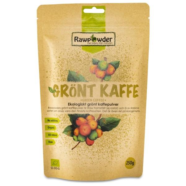 RawPowder Grönt Kaffepulver 250 g