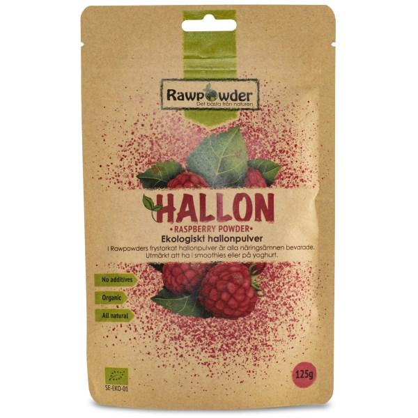 RawPowder Hallonpulver 125 g