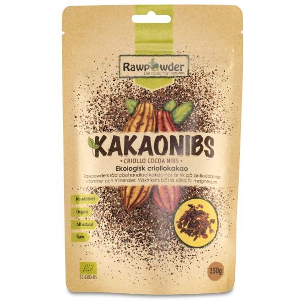 RawPowder Kakaonibs Criollo 150 g