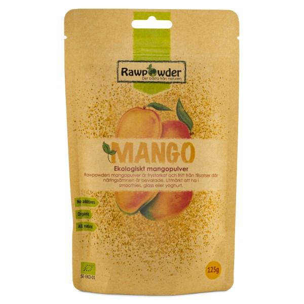 RawPowder Mangopulver EKO 125 g