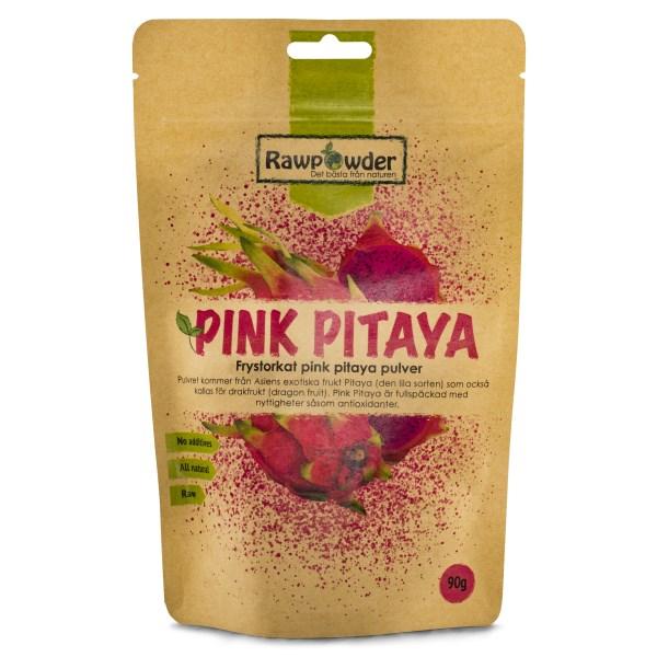 RawPowder Pink Pitaya Pulver 90 g