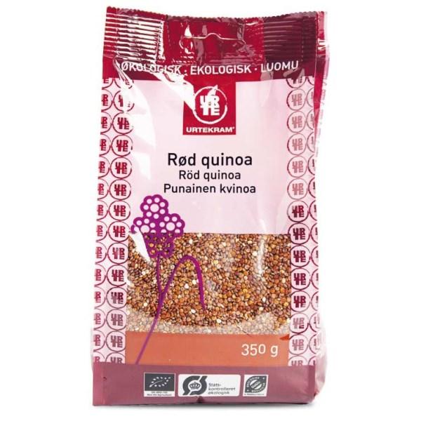 Urtekram Röd Quinoa 350 g