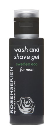 Rosenserien Wash and Shave Gel Men