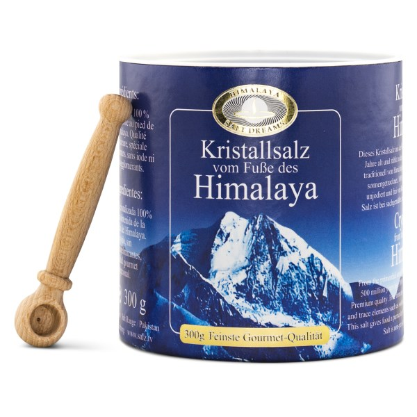 Selamix Himalaya Bordssalt i Burk med Träslev 300 g