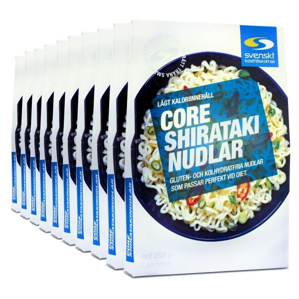 Core Shirataki Nudlar 10 st
