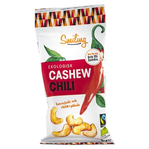 Smiling Cashew Fairtrade EKO Chili 45 g