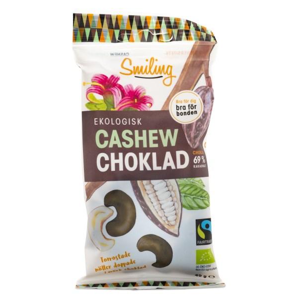 Smiling Cashew Fairtrade EKO Mörk Choklad 45 g