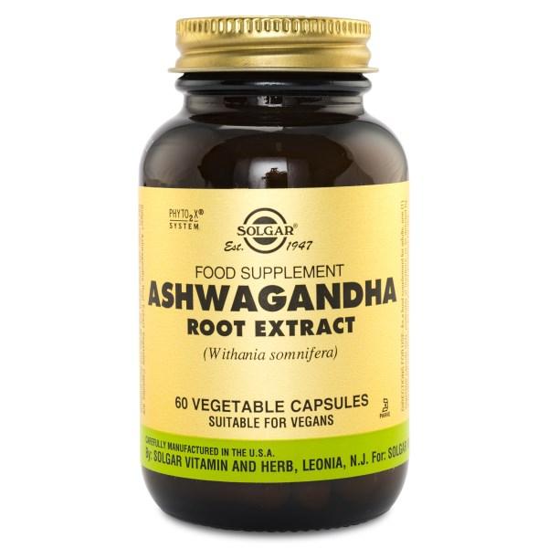 Solgar Ashwagandha Root Extract 60 kaps
