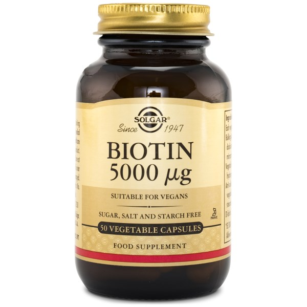 Solgar Biotin 5000 ug 50 kaps