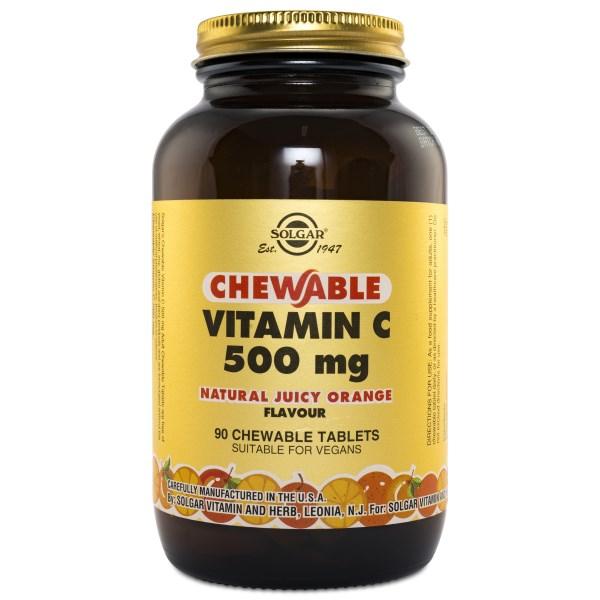 Solgar Chewable Vitamin C Apelsin 90 tabl