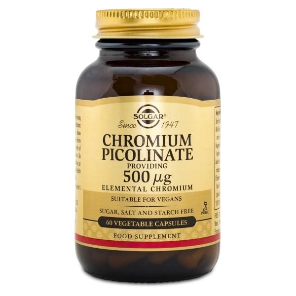 Solgar Chromium Picolinate 500 60 kaps
