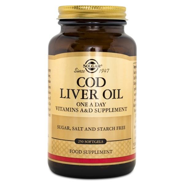 Solgar Cod Liver Oil 250 kaps