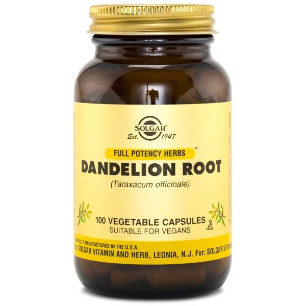 Solgar Dandelion Root / Maskrosrot 100 kaps