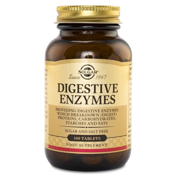 Solgar Digestive Enzymes 100 tabl