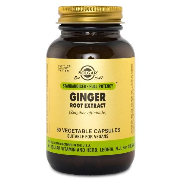 Solgar Ginger Root Extract 60 kaps