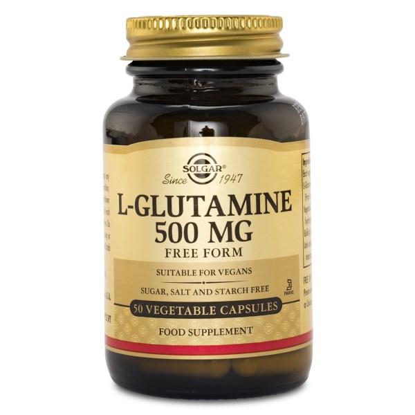 Solgar L-Glutamine 50 kaps