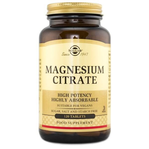 Solgar Magnesiumcitrat 120 tabl