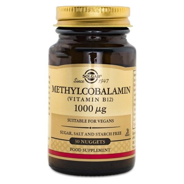 Solgar Methylcobalamin 30 nuggets
