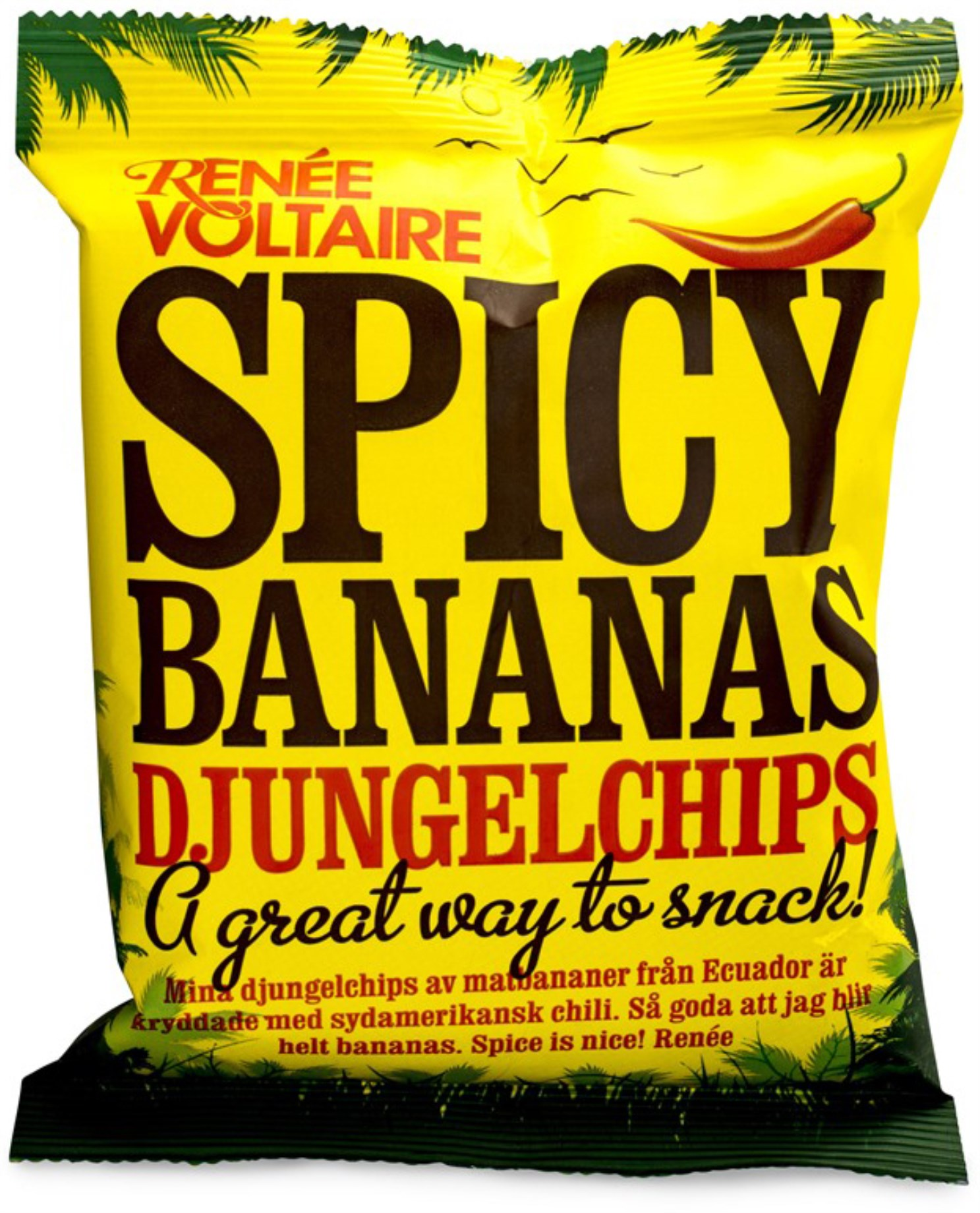 Renee Voltaire Spicy Bananas Djungelchips,  - Renee Voltaire