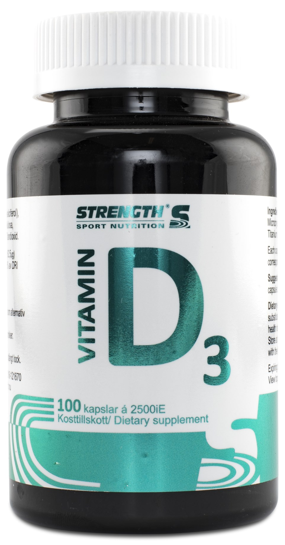 Strength D-Vitamin,  - Strength