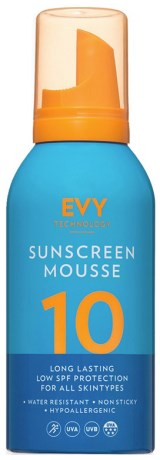 EVY Sunscreen Mousse SPF10