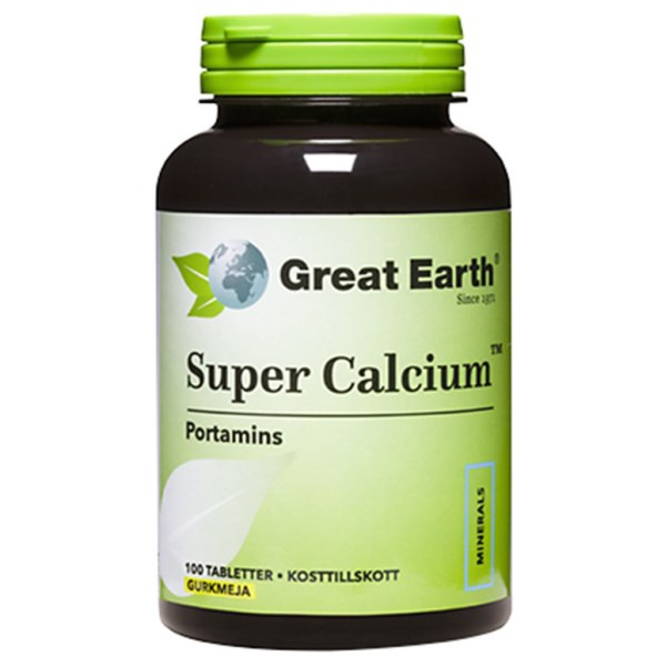 Great Earth Super Calcium 100 tabl