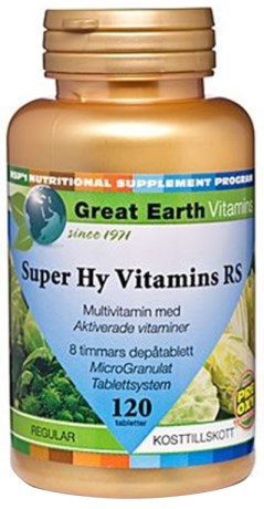 Great Earth Super Hy Vitamins