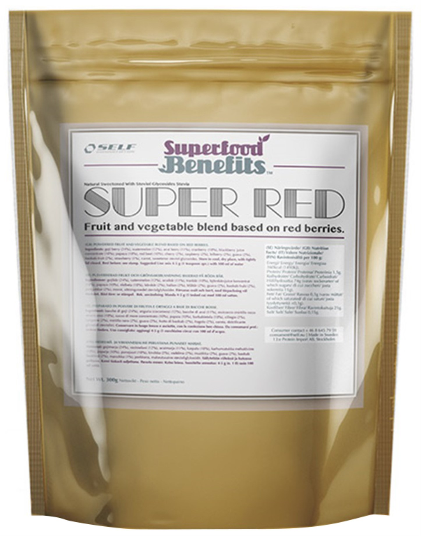 Self Omninutrition Super Red,  - Self Omninutrition