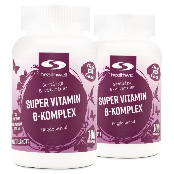 Super Vitamin B-Komplex 200 kaps